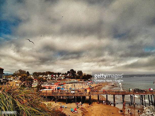 group of people on the beach - san jose california stock photos and pictures