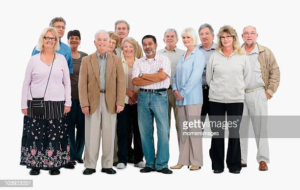 a group of people - 50 59 years stock pictures, royalty-free photos & images