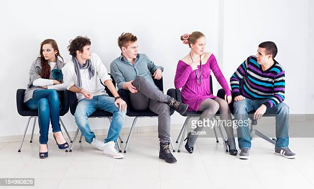 Group of people sitting
