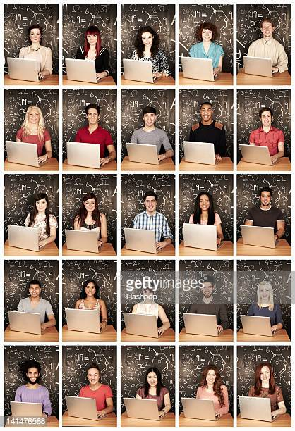 Group of people using a laptop