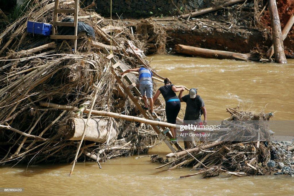 PUERTORICO-WEATHER-HURRICANE-MARIA : News Photo