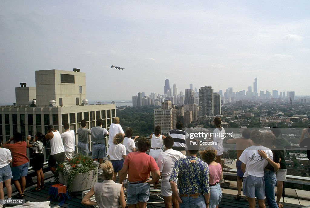 Chicago Air and Water Show : News Photo