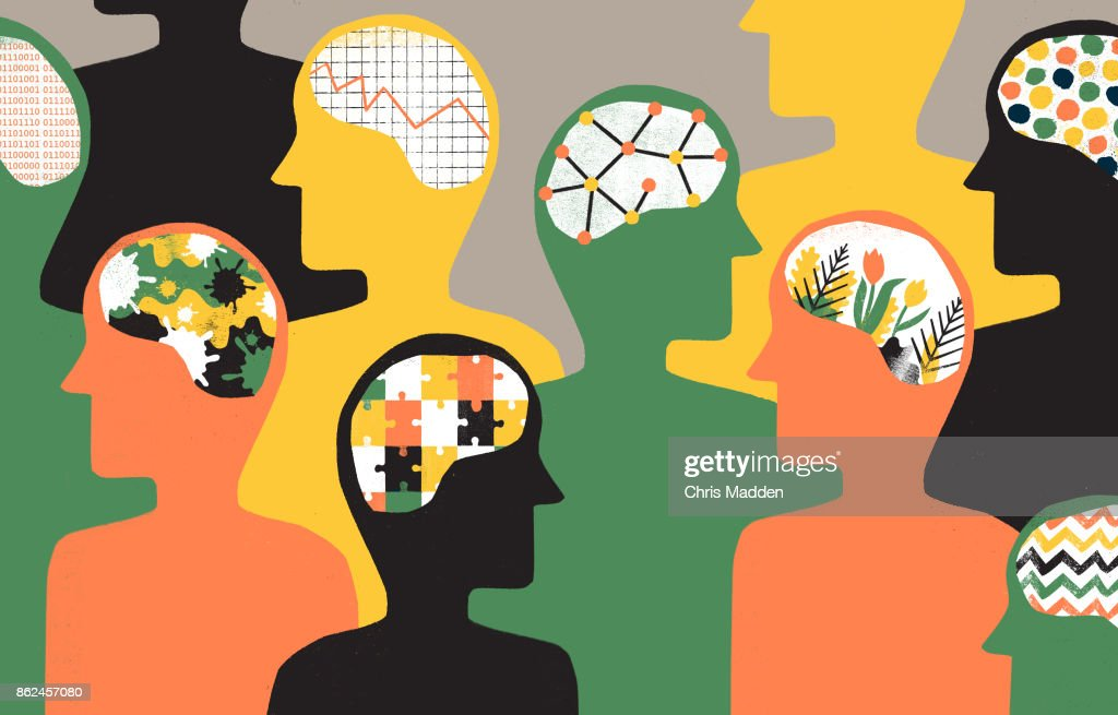 Group of People with differing personalities : Stock Photo