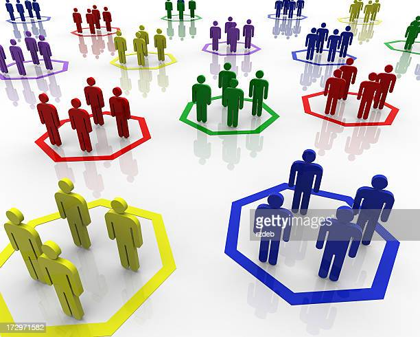 group of peoples - segregation stock pictures, royalty-free photos & images