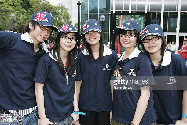 A group of performers participate in the 2008 Chinese New Parade on February 10 2008 in Sydney Australia The parade involved 2500 performers in what...