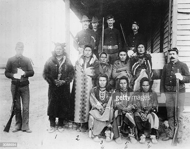 A group of prisoners from the Crow tribe who are being confined to a reservation while the colonists take over large tracts of their land The Crows...