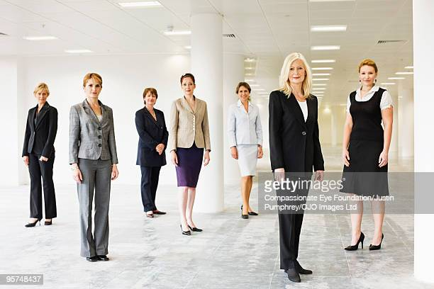 A group of professional women