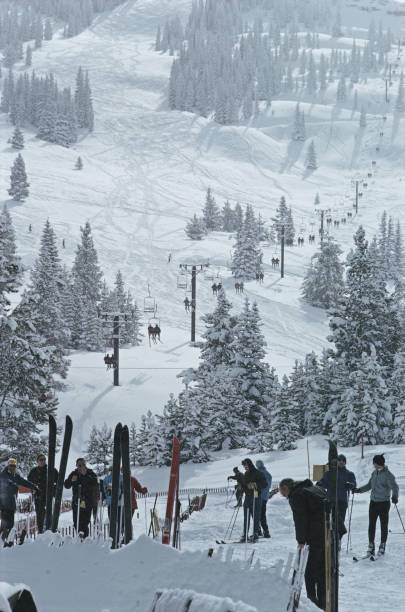 Skiing In Vail