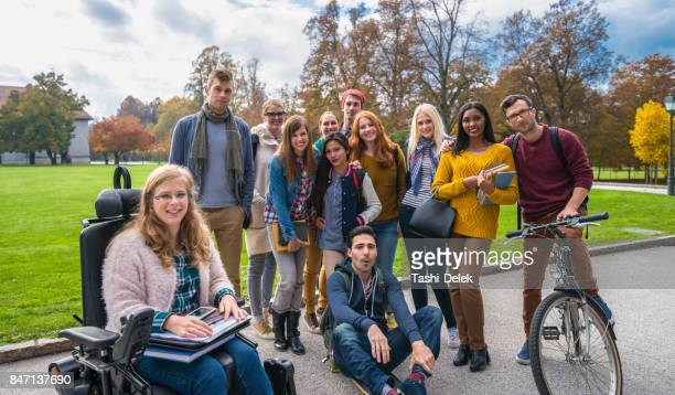 Group Of Smiling Young Adults