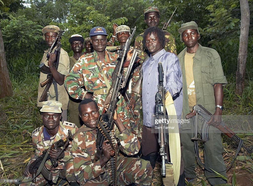 Illusive Rebel Group Breaks Silence : News Photo