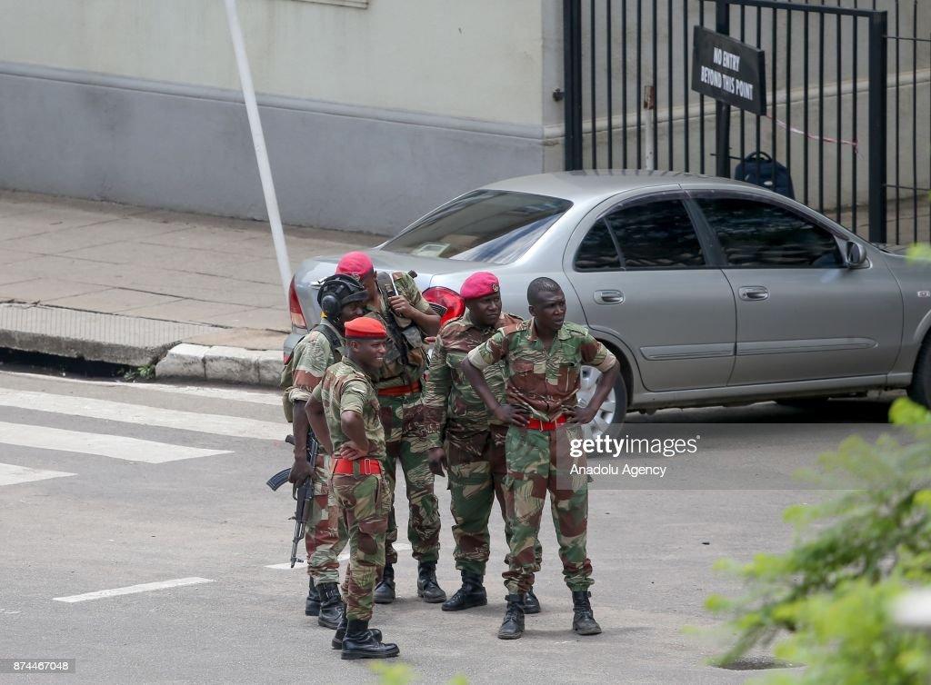 Zimbabwe army takes control of Harare : News Photo