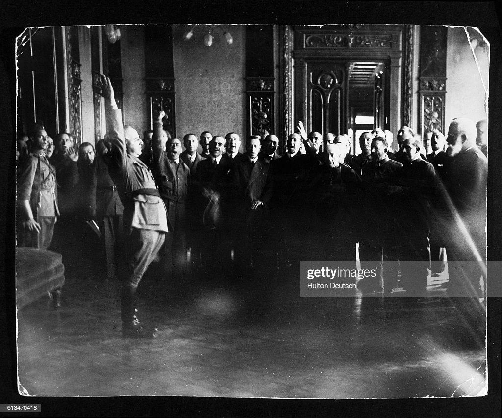 General Franco Proclaims Himself Dictator : News Photo