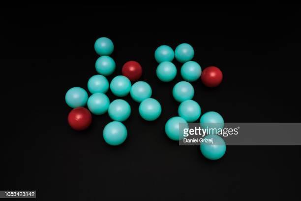 Group of spheres