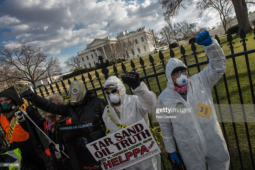 Usa Thousands Rally In Washington To Protest Keystone Pipeline