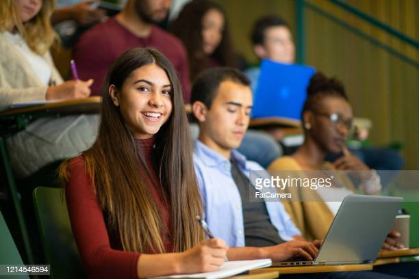 group of students in class stock photo - indigenous peoples of the americas stock pictures, royalty-free photos & images