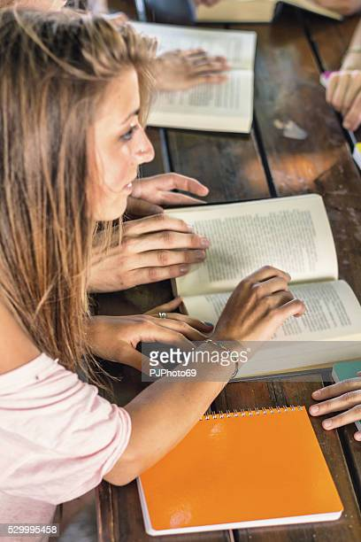 group of students - pjphoto69 stock pictures, royalty-free photos & images