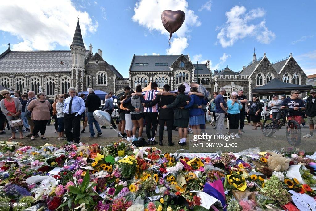 TOPSHOT-NZEALAND-ATTACK-MOSQUE : Fotografía de noticias