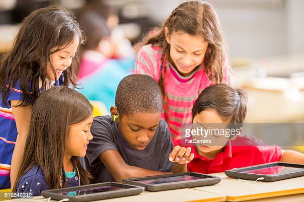 Group of Students Watching an Educational Video