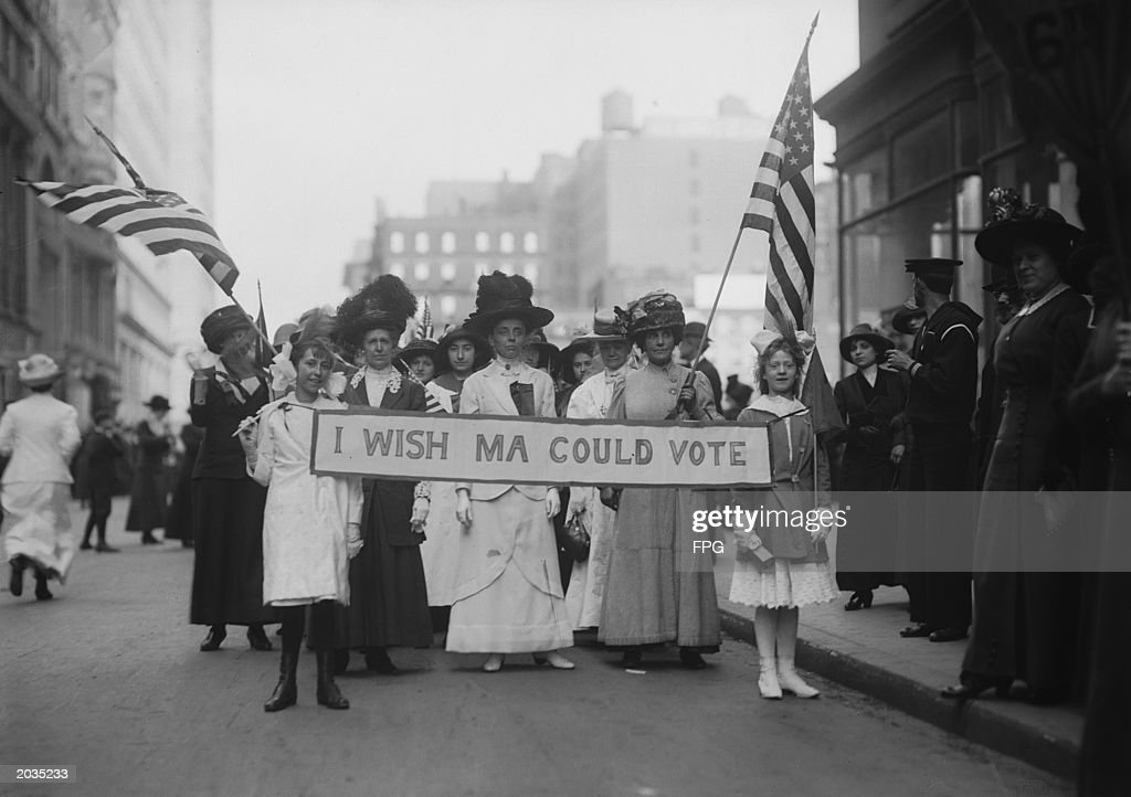 Suffragettes March : News Photo