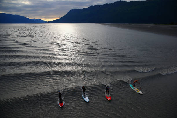 Feature - Bore Tide Surfing in Alaska