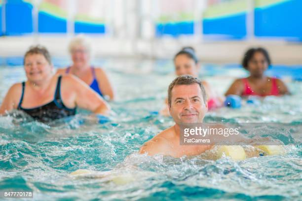 Group Of Swimmers