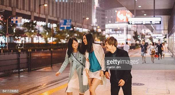 Group of teenagers in Osaka