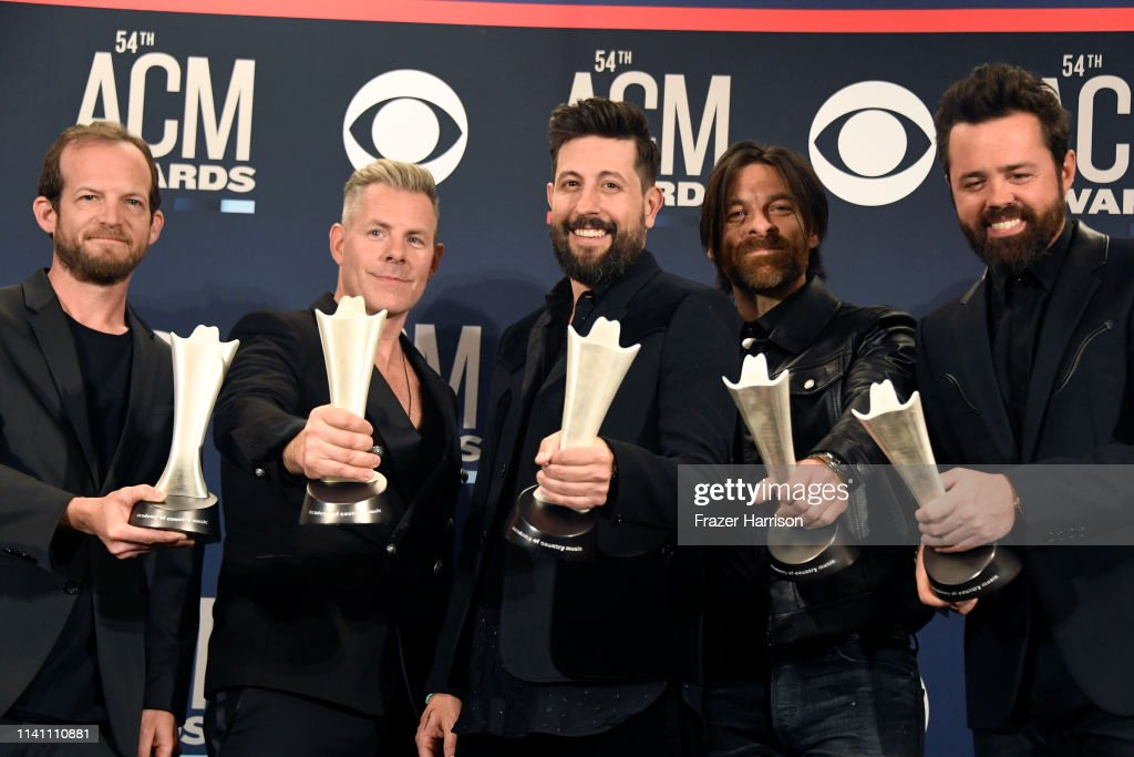 54th Academy Of Country Music Awards - Press Room : News Photo