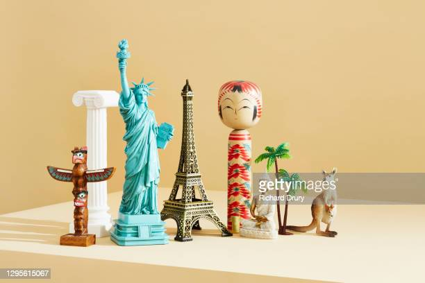 a group of travel souvenirs - religion stock pictures, royalty-free photos & images