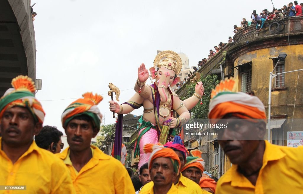 Preparation of Ganesh Chaturthi