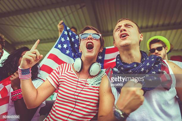 Group of Usa supporters