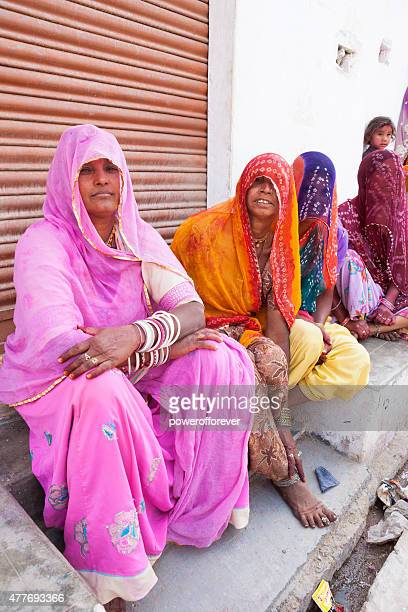 Group of Women Friends in Salapura Village, Rajasthan, India