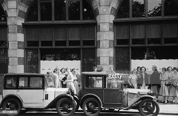 A group of women in Mayfair London 1953