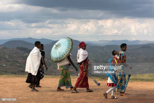 A group of women in the Rwandan countryside Rwanda is the most densely populated country in Africa There are an estimated 352 people per square...