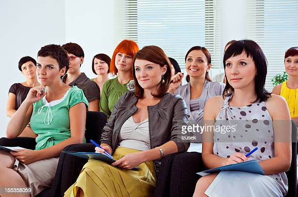 Group of women on a seminar