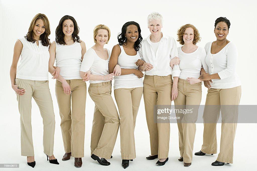 グループの女性 : ストックフォト