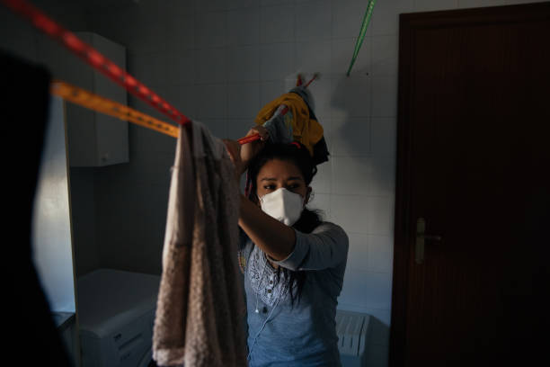 ESP: Gender Violence Victims Living Together During Coronavirus Lockdown In Spain