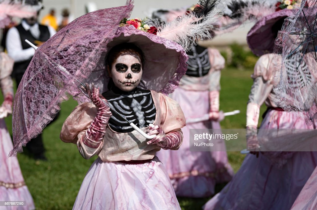 Day of The Dead in Los Angeles : News Photo