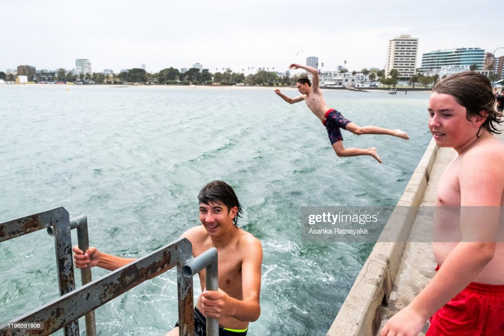 Melbourne Residents Brace For Extreme Weather As Heatwave Continues : News Photo