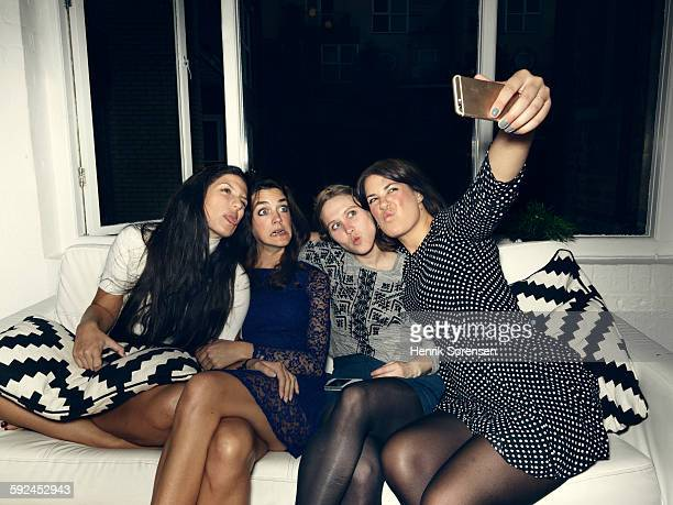 group of young people having a party - party social event stock pictures, royalty-free photos & images