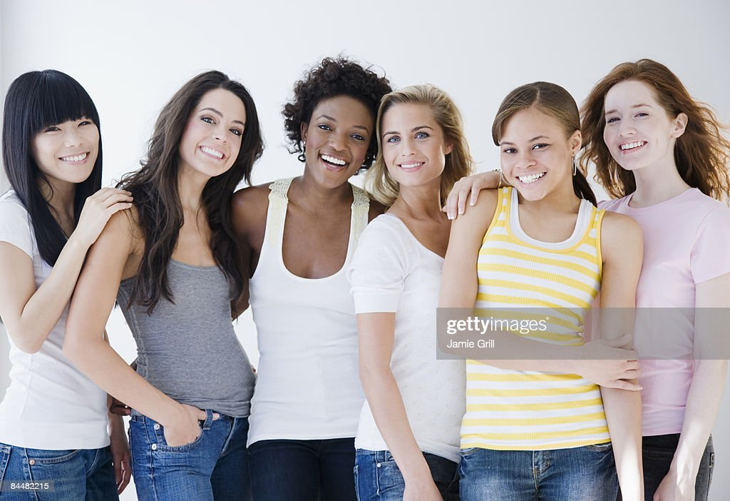 Group of Young Women : Stock Photo