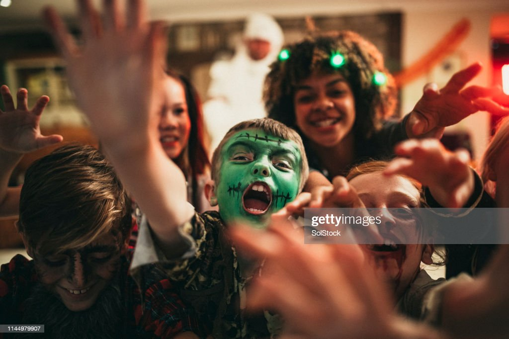 Group of Zombies : Stock Photo