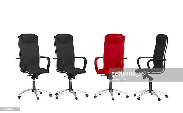 Group office chairs