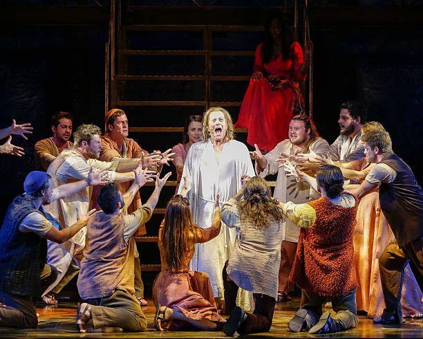 jesus christ superstar musical press call photos and images getty images. Black Bedroom Furniture Sets. Home Design Ideas