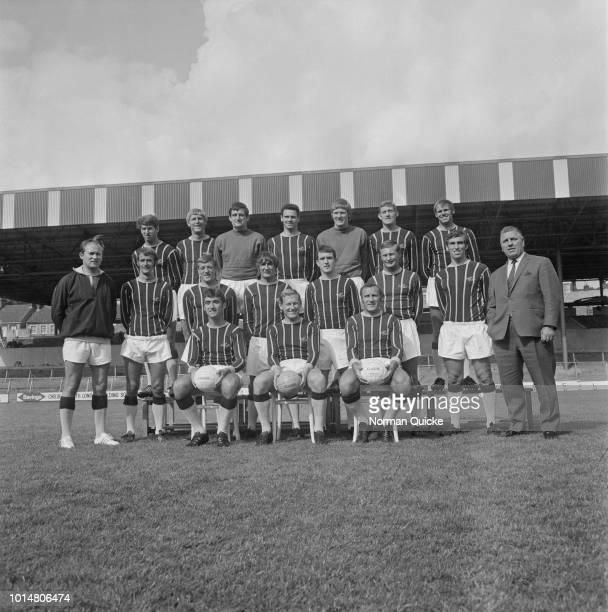 Group photo Crystal Palace FC, UK, 23rd July 1969.