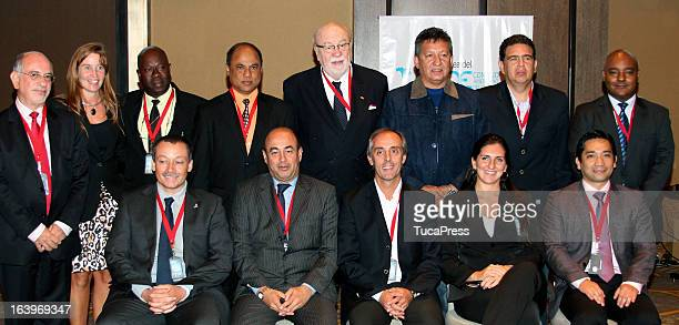 Group photo during the Antidopping Commission Conference as part of XIX Sports Minister of America and Iberoamerica Meeting Organized by CID at...