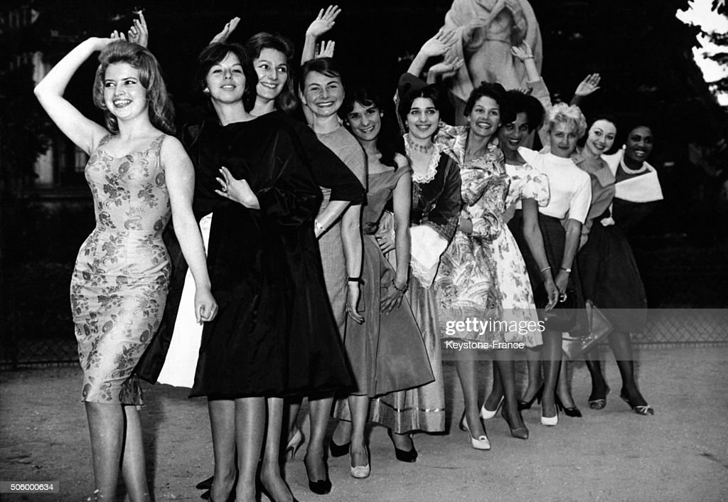 Election Of Miss Europe 1959 : Nachrichtenfoto