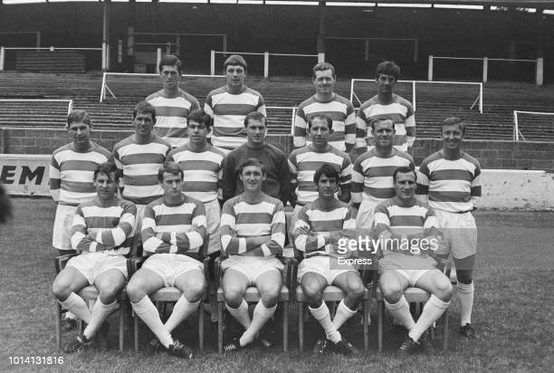 Group photo of Queens Park Rangers FC London UK 20th July 1966