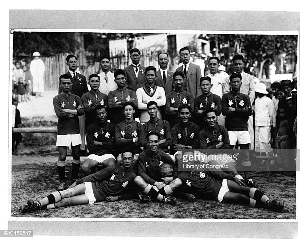 A group portrait of a Hong Kong rugby team