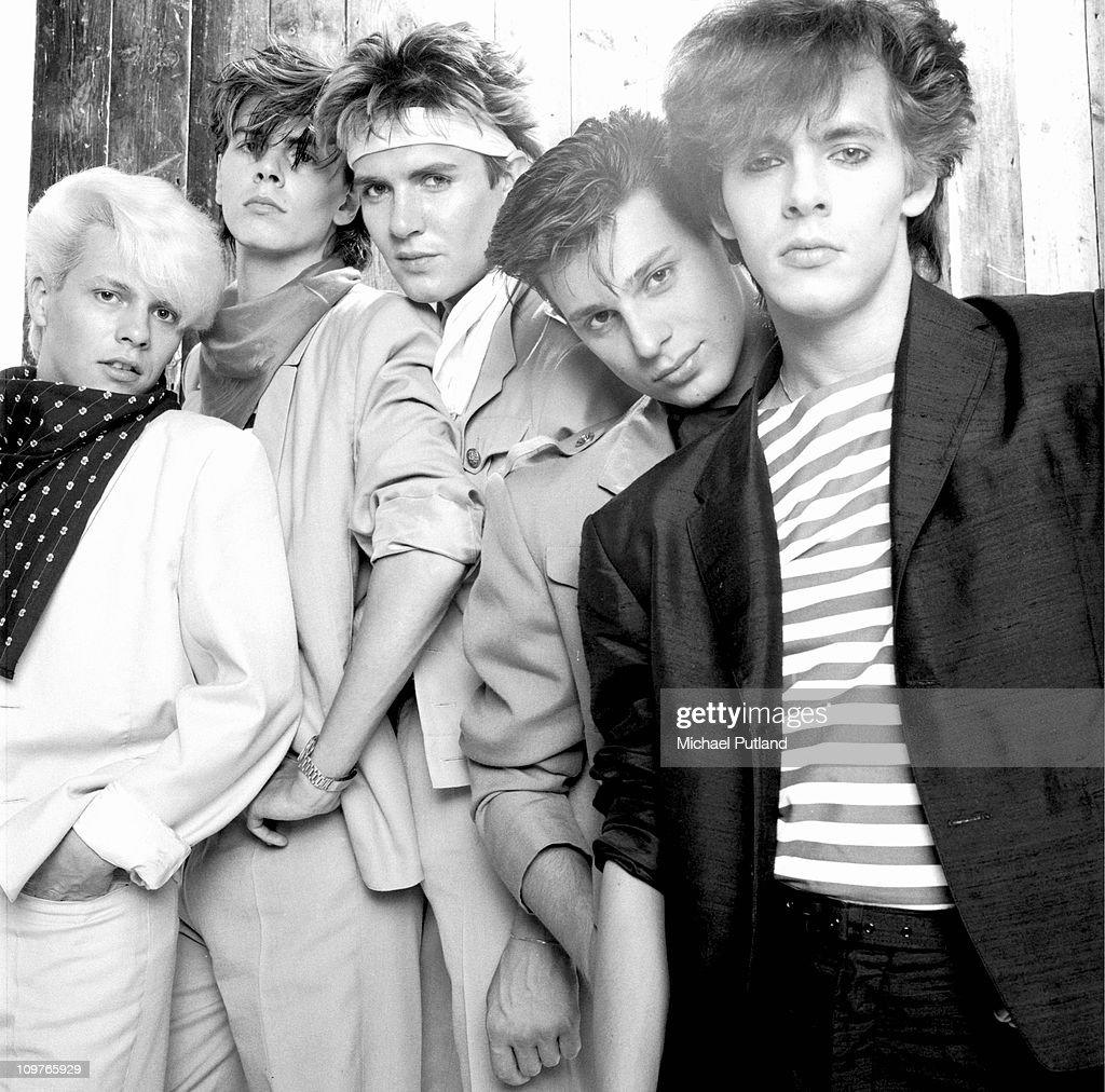 Group Portrait Of Duran Duran : News Photo