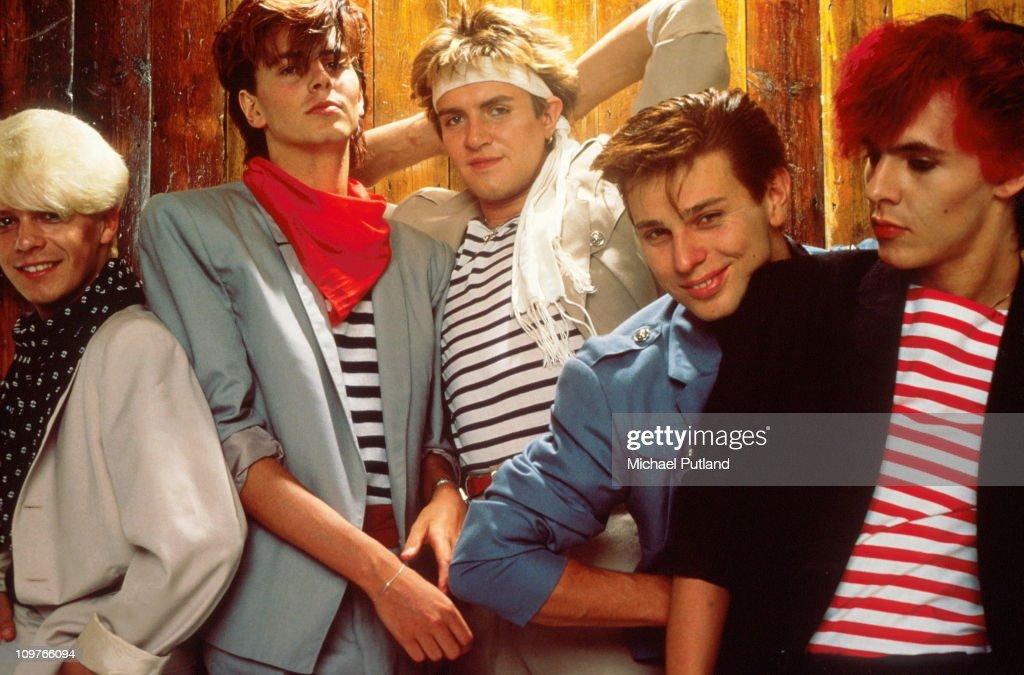 Group Portrait Of Duran Duran : News Photo